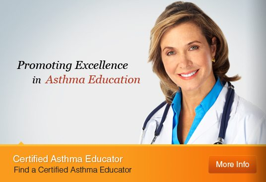 Certified Asthma Educator